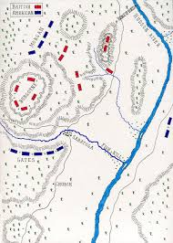 Camp Dearborn Map Battle Of Saratoga