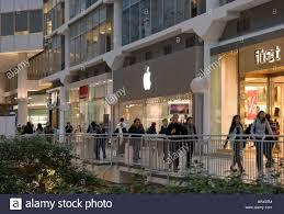 apple store eaton centre shopping mall toronto ontario stock photo