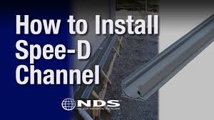 patio drainage problem how do i install an nds speed or mini channel youtube