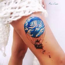 air balloon on thigh best design ideas