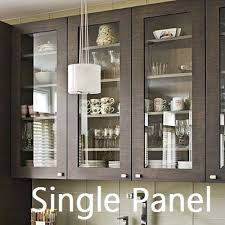 Kitchen Cabinet Glass Doors Glass Panel Kitchen Cabinet Doors Plan All About Home Design