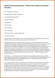 Health Care Assistant Resume Medical Assistant Resumes Resume Name