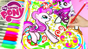 mlp my little pony creative coloring book pinkie pie twilight