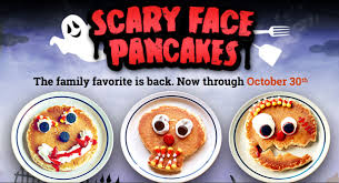 ihop black friday deals free scary face pancakes at ihop on october 30th