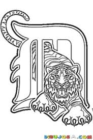 coloring page tigers detroit tigers coloring pages 14421