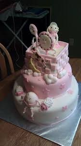 pink nursery rhyme baby shower cake picture perfect cakes