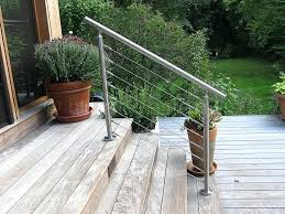lowes exterior stair railing vinyl porch home decor composite deck