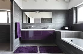 lux grey and purple bathroom design architecture centre