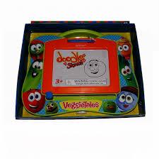 veggie tales doodle etch a sketch toy