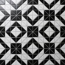 tile patterns triangle triangle tiles floors kitchen bathroom walls accents