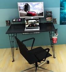 atlantic gaming desk for small spaces computer multi game table
