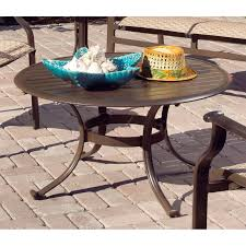 Turquoise Patio Furniture by Panama Jack Island Breeze 7 Piece Slatted Patio Dining Set