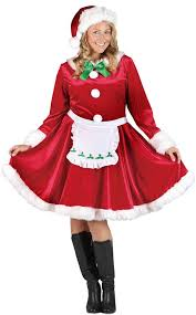 mrs claus costumes plus size mrs santa claus costume costume craze
