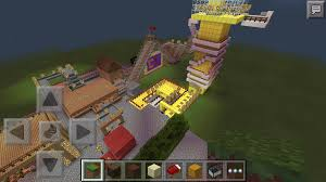 Mpce Maps Craftland Amusement Park Mcpe Map Download Mcpe Maps