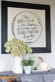 how to frame a mary and martha tea towel hymns and verses