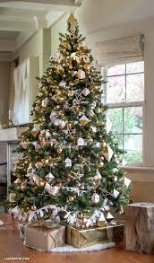 gold and silver tree ideas silver tree