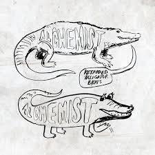 the alchemist retarded alligator beats lp