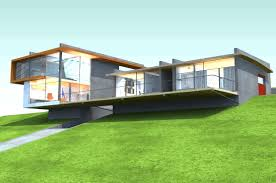 sloping lot house plans sloped associated designs exceptional