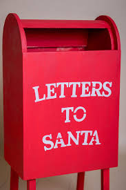 letters to santa mailbox wood letter box on legs letters to santa mailbox christmas
