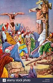 jesus on the cross after illustration by j james tissot new