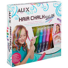 hair beading alex spa hair chalk salon toys