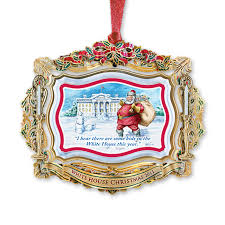 2011 white house ornament santa visits the white house