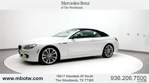 pre owned 6 series bmw pre owned 2014 bmw 6 series 650i 2d convertible in the woodlands