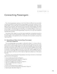 chapter 5 connecting passengers guidelines for improving