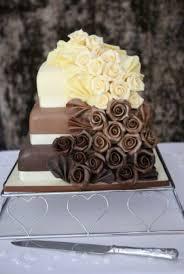 square chocolate wedding cake pictures tier square wedding cakes