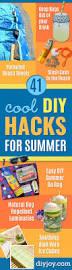 41 cool diy hacks for summer diy joy