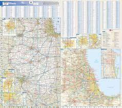 Illinois Map by Illinois State Map