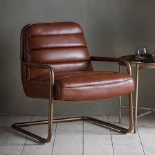 Leather Lounge Chair Chestnut Faux Leather Lounge Chair Primrose Plum