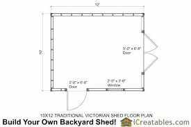 floor plans for sheds 10x12 traditional garden shed plans icreatables
