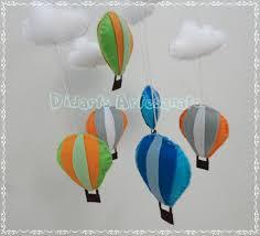 Basta Móbile de Balões - Teto no Elo7   Didarts Artesanato (9DB3F2) #FZ93