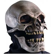 phantom of the opera halloween costumes death skull mask w moving mouth action halloween costume