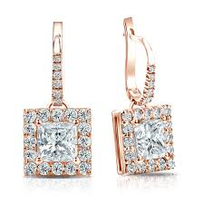 leverback diamond earrings jewelrydays 14kt yellow gold diamond fashion lever back earrings