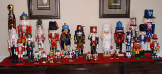 decorating regal wooden nutcrackers for
