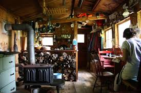 small rustic cabin interior tiny house in a landscape freshittips