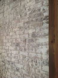 How To Paint A Faux Brick Wall - white washing brick sawdust2stitches com shop pinterest