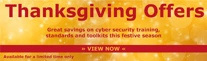 thanksgiving offers save 30 on iso27001 online it