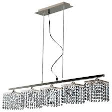 led suspended ceiling lighting tp24 6555 leyton 5 way suspended led ceiling light bar