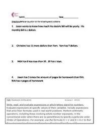 6th grade common core math assessment short form b 10 questions