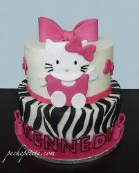 hello kitty cakes peche petite