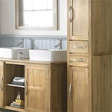 top tall slim white gloss bathroom cabinet maine slim freestanding