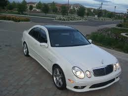 2003 mercedes e55 amg for sale 2004 e55 amg kompressor white black panoramic roof etc 43 9k