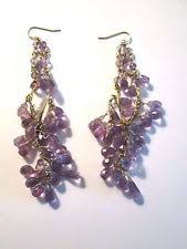 Ralph Lauren Chandelier Fashion Earrings Ralph Lauren Chandelier Stone Fashion Earrings Ebay