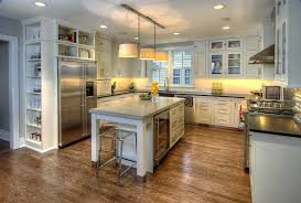 Under Cabinet Lighting Ideas Kitchen by Above The Fridge Ideas Kitchen Contemporary With Recessed Lighting