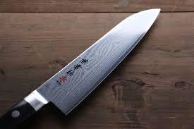 kanetsune vg10 33 layer damascus santoku all purpose japanese chef