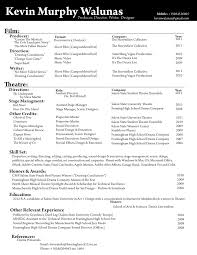 Musical Theater Resume Template Essay On Lamb To The Slaughter Essay Rewriter Reviews Custom
