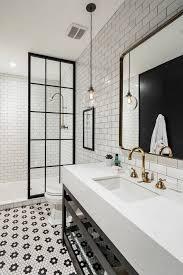 White Master Bathroom Ideas Best 25 Black And White Master Bathroom Ideas On Pinterest